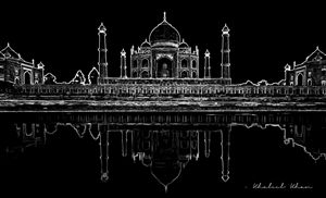 The Reflecting Taj