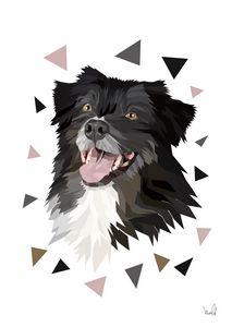 Custom Pet Portrait Digital