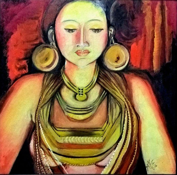 Mohenjo-Moheno - Watercolor Painting - InspiredArt by Neeta