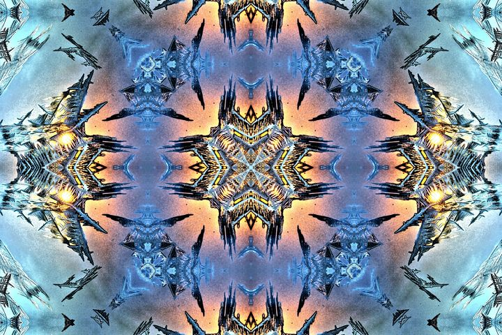 Dimensional Frost - Tracy Schruder Inside Out Creations