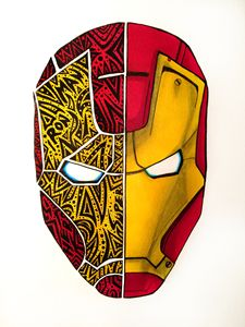 Tribal & Realistic Iron Man
