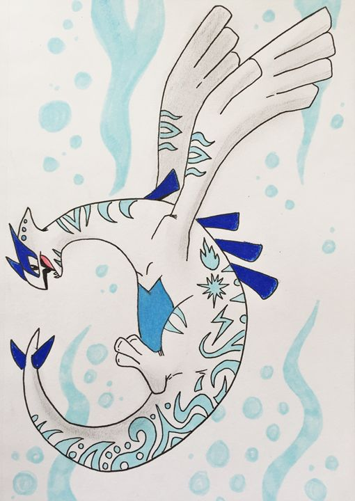 Tribal Lugia - Green Lamb