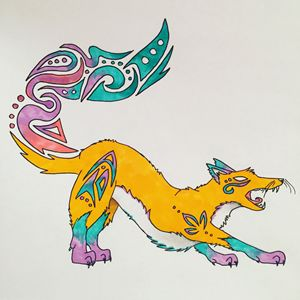 Tribal Fox