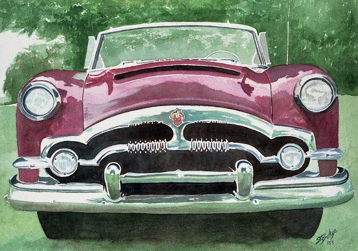 Red 1953 Packard - SBoksenbaum