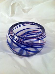 Spiral Ribbon Cane Bowl