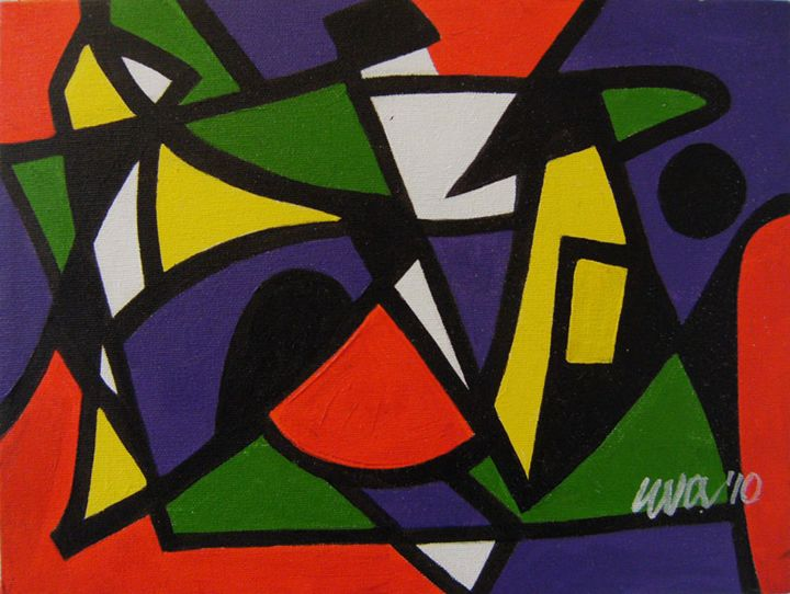 Hate - Eva Deutsch Art