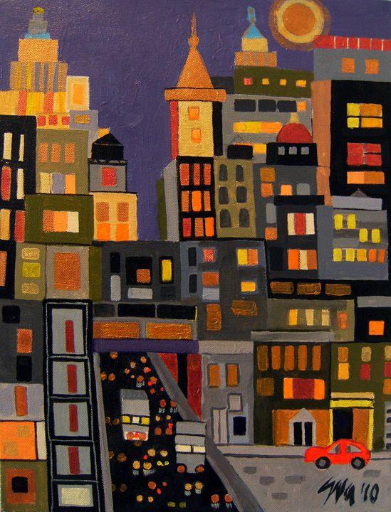 27th Street - Eva Deutsch Art