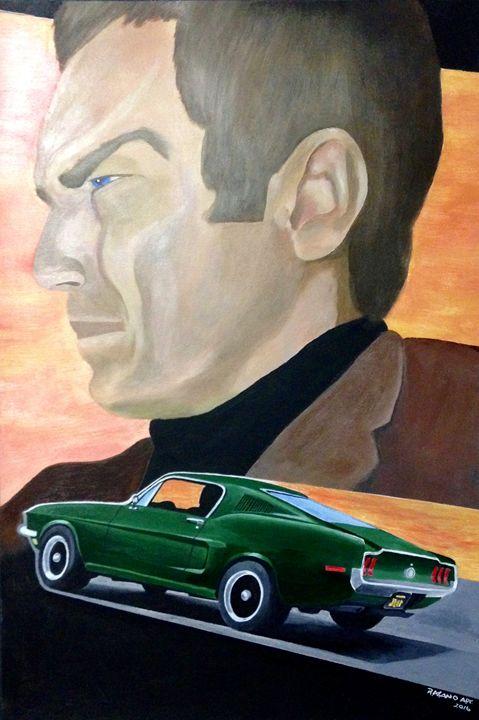 """Steve McQueen """"Bullitt"""" - Robert A.Cano"""