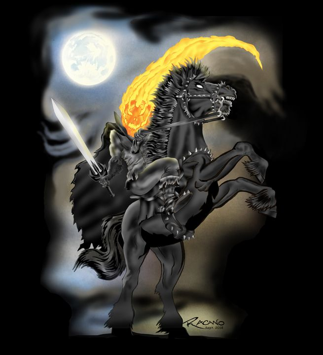 The Headless Horseman - Robert A.Cano