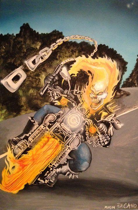 Ghost Rider - Robert Cano