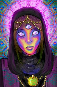 psychedelic priestess