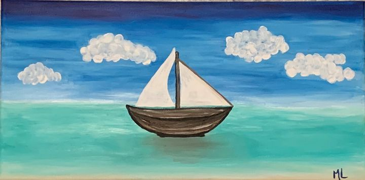 Boat in the Water - Marsha's Creative Corner