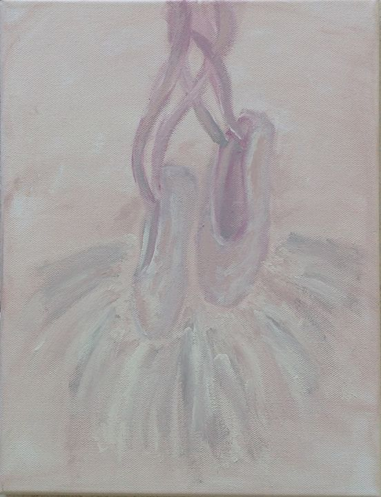 Ballerina 1 - Elisa's Paintings