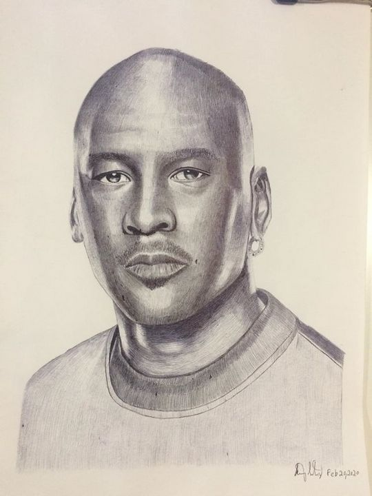 Michael Jordan - Sammy's Art