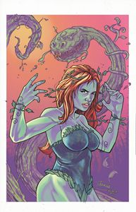 poison ivy full color print