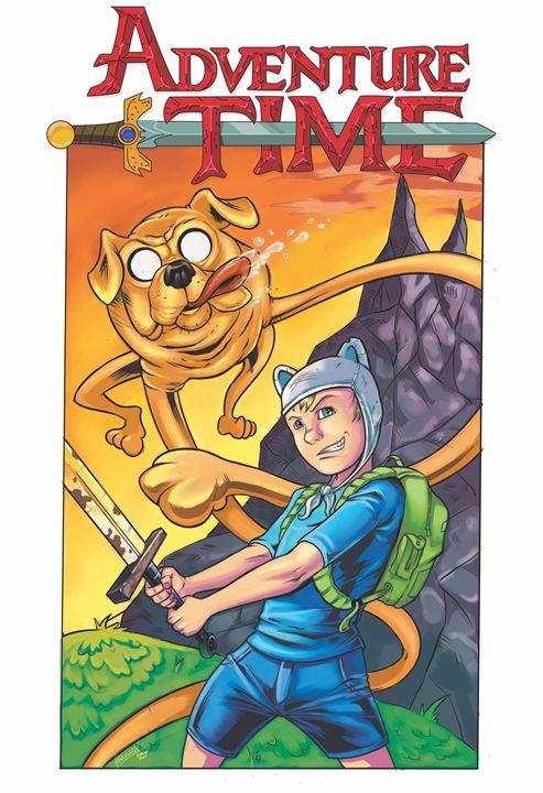 Adventure Time color print 11x17 - Sean Stramara Illustration