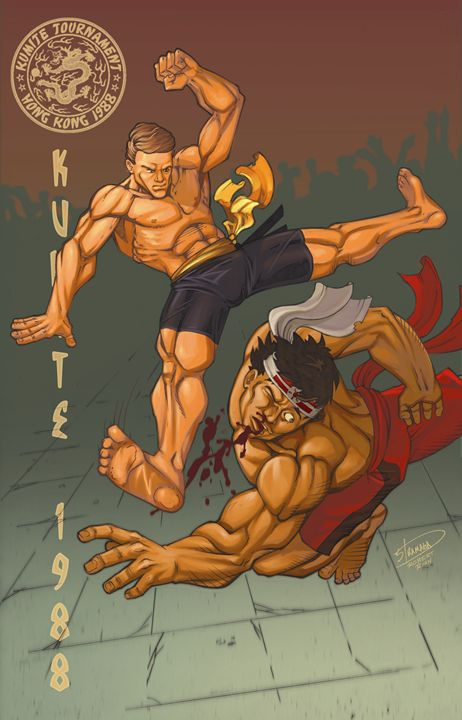bloodsport - Sean Stramara Illustration