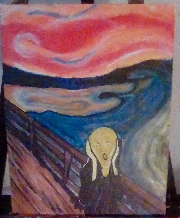 """Scream"" reproduction - SkeletonsCloset"