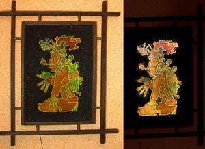 Maya god.  ,maise god,