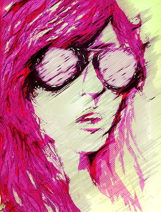 Pretty In Pink - Aaron Simmons Illustrated