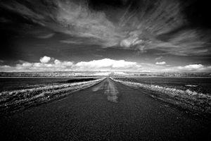 Open road, Belgium