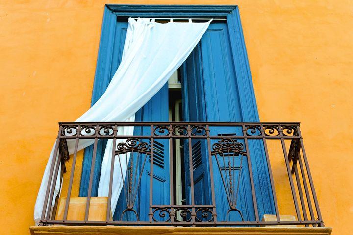 Windows of Perpignan, France - Moise Levi Photography
