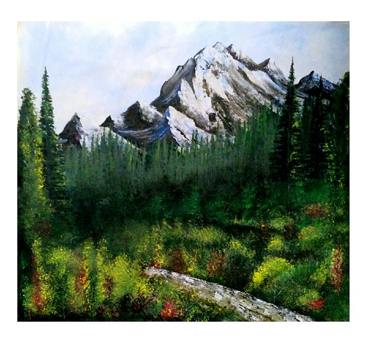 Mountains of the north. - Revati's Art