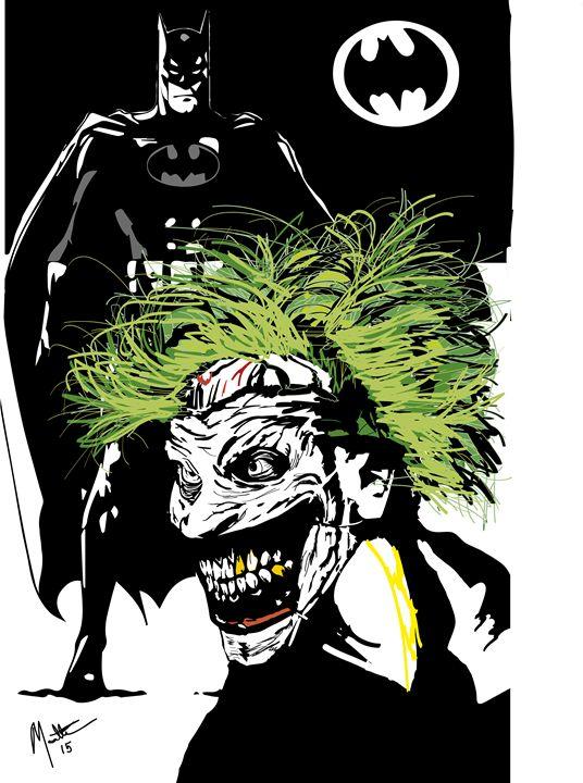 Joker's Bat - Dream Away Art