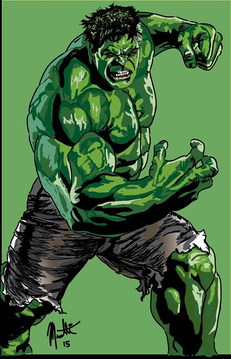 The HULK - Dream Away Art