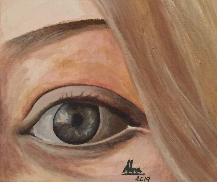 Eyes - ALNA POULOSE