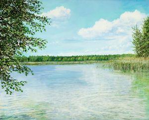Lake near Muencheberg
