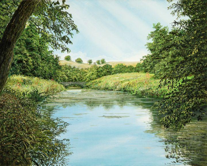 idyllic landscape - FineArt
