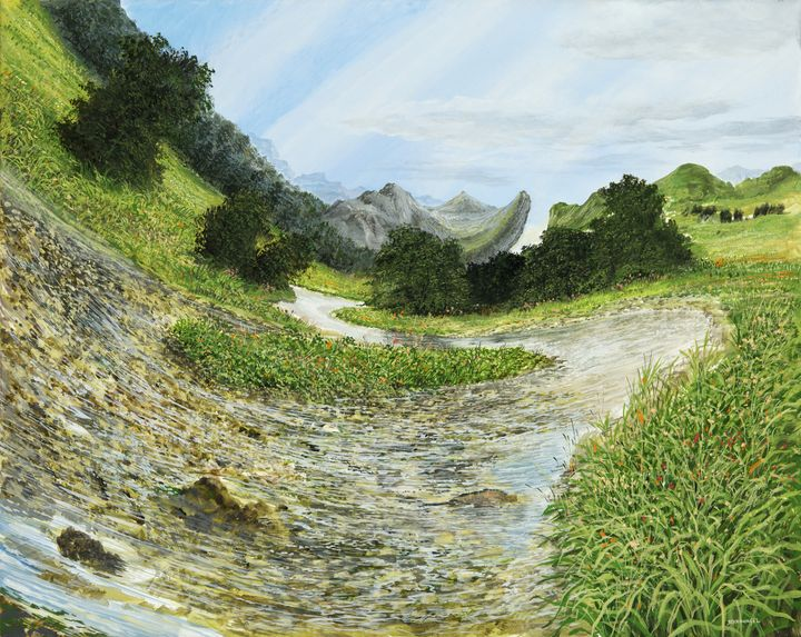 mountain brook - FineArt