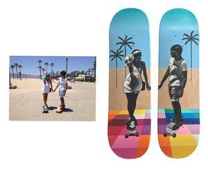 Custom Skateboard with your photo