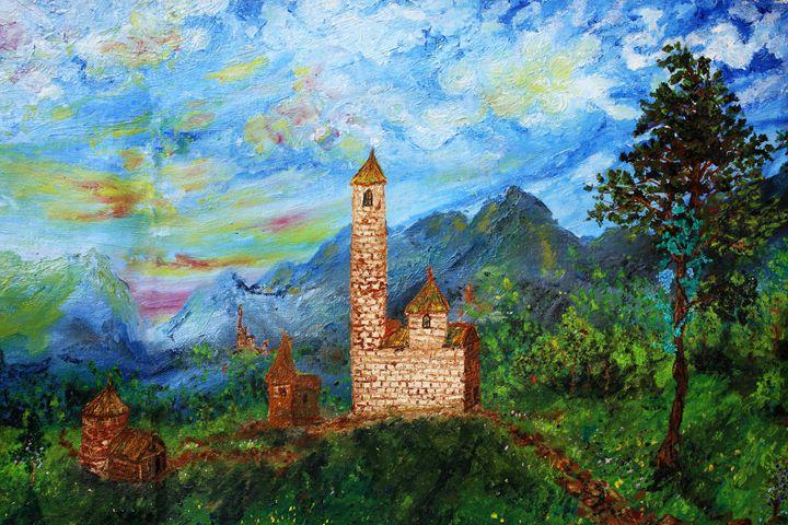 Fairy tale castle (Fragment) - Alex Coan