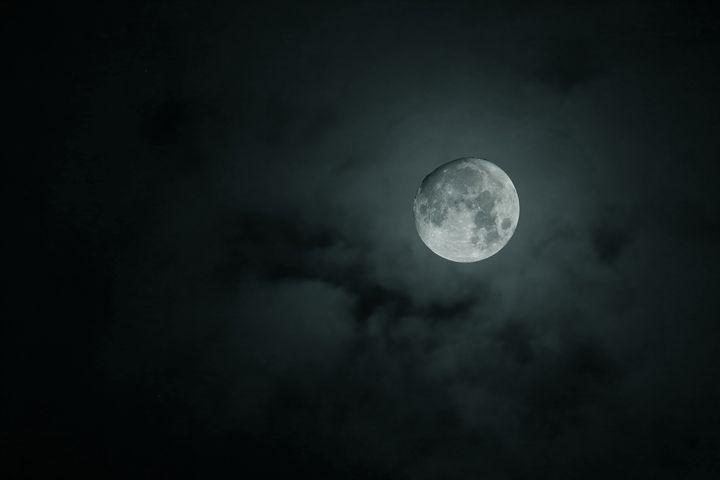 Moon and clouds - Alex Coan