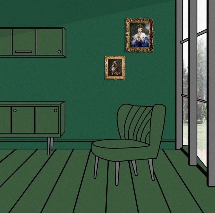 Green Rooms - Joshua Bailey