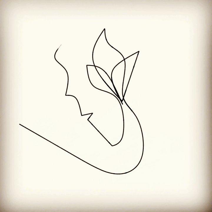 Girl on flower - Sakhawat Mozumder