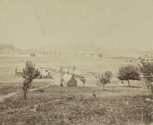Chattanooga During the civil war.
