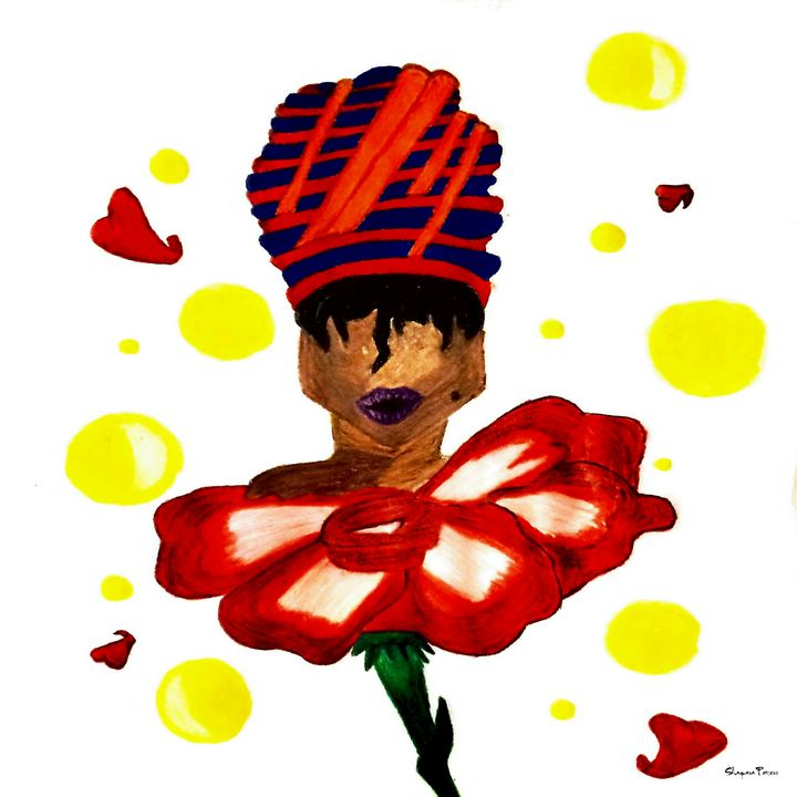 African Lily - Zisha's Designs