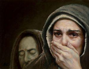 Behold Thy Son - Lester Nielsen Art