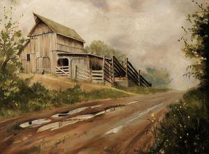 After the Storm - Lester Nielsen Art