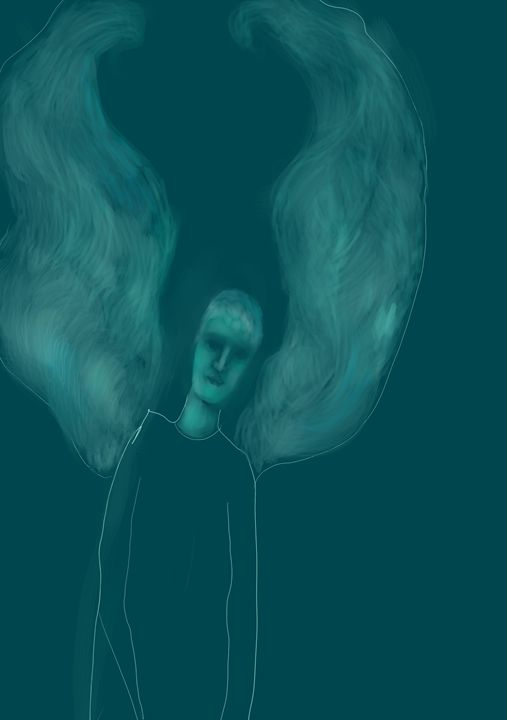 Blue Guardian Angel - SoulCraftZone