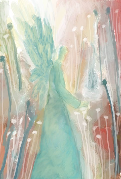 Angel in Flowers - SoulCraftZone