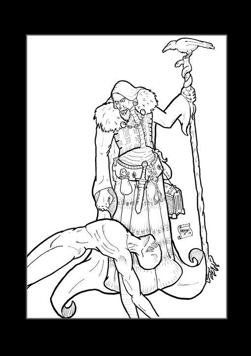 The necromancer - stonewolfdf