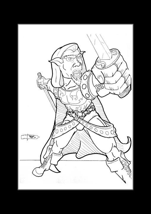 The Gobling ranger - stonewolfdf