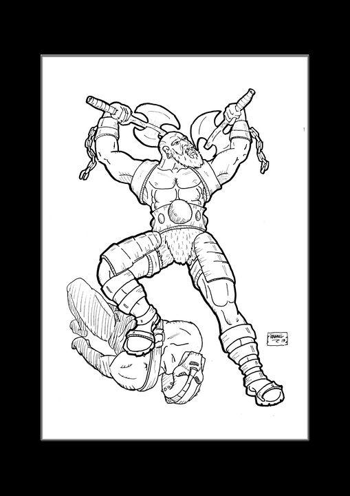 Barbarian Victorious - stonewolfdf