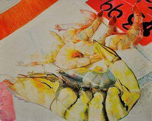Psychedelic Shrimp