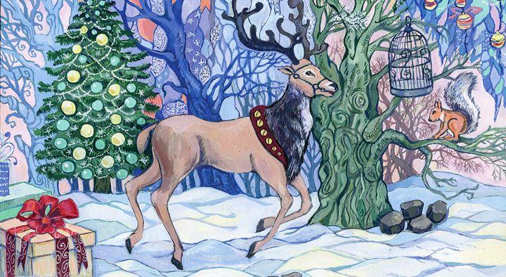 A Christmas Fairy Tale - Oksana Ivanik