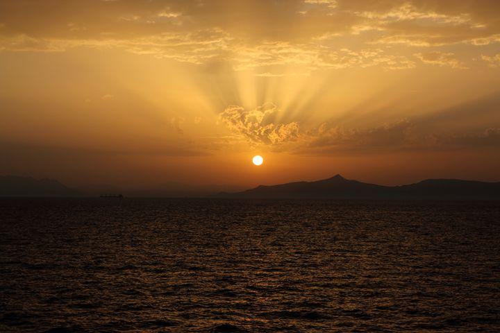 Sunset - Anastasia Fragkou